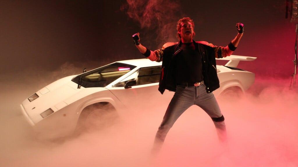 David Hasselhoff nel video di True Survivor